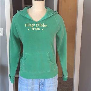 Green hoodie medium